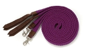 Seven Foot Easy to Grip Soft Cotton Braided Split Reins